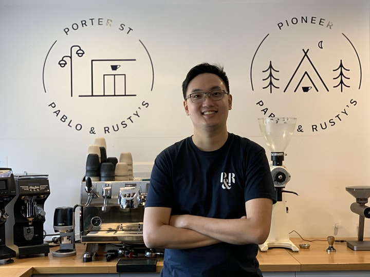 Ao Làng Latte Art - Coffee W Tee image