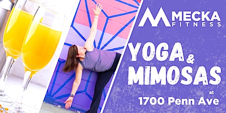 Yoga and Mimosas at 1700 Penn Ave tickets