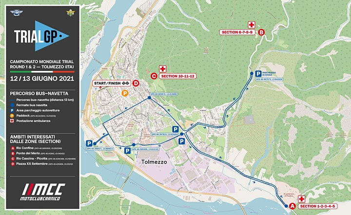 Immagine TRIAL GP Campionato Mondiale Trial — 12 e 13 Giugno 2021