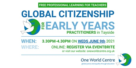 Global Citizenship for Early Years Practitioners (Tayside) tickets