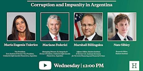 Virtual Event | Corruption and Impunity in Argentina entradas