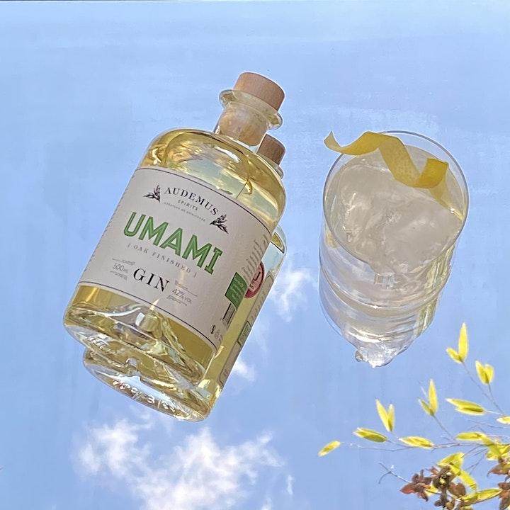 Audemus Umami Gin Virtual Tasting & Cocktail image