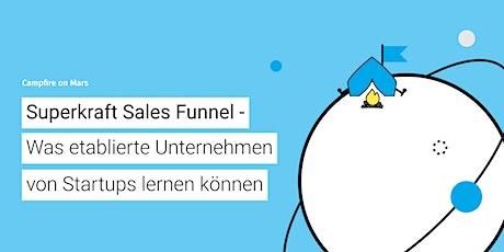 CoM #30: Sales Funnel - Was Unternehmen von Startups lernen können Tickets