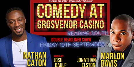Comedy at Grosvenor Casino Reading South tickets