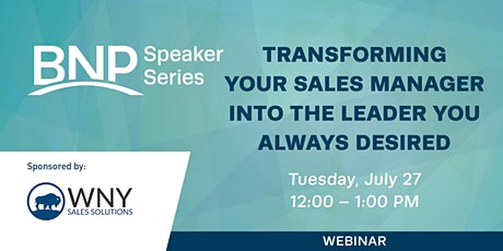 Transforming your Sales Manager into the Leader you Always Desired tickets