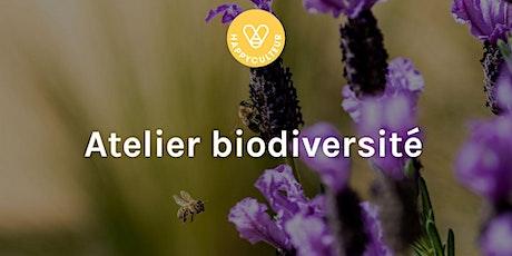 Atelier en ligne : découverte de biodiversité tickets