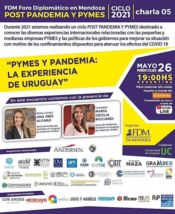 """Imagen de FDM- Ciclo 2021 """"POST PANDEMIA y PYMES"""" (virtual) charla 05"""