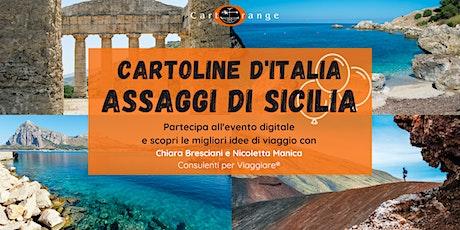 Cartoline d'Italia: assaggi di Sicilia! biglietti