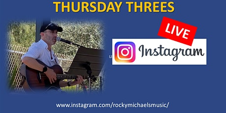 Thursday Threes - Livestream tickets