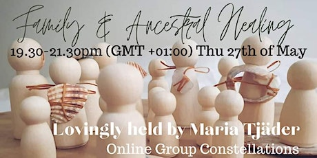 Family & Ancestral Healing - Online Group Constellations tickets