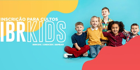 Cultinho CRESCER  10h30 (crianças de 6 a 11 anos) ingressos