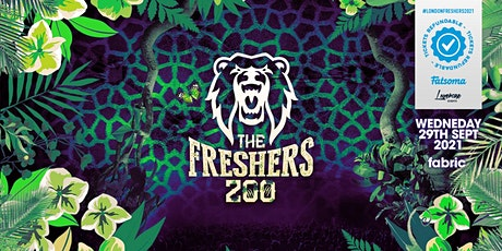 THE 2021 FRESHERS ZOO AT EGG LONDON! tickets