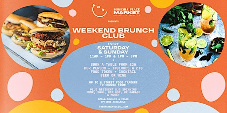 Weekend Brunch Club tickets