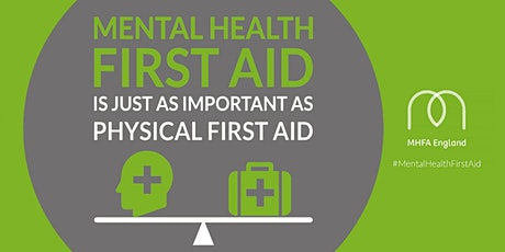 Two Day - Online Adult MHFA (Mental Health First Aid Course) tickets