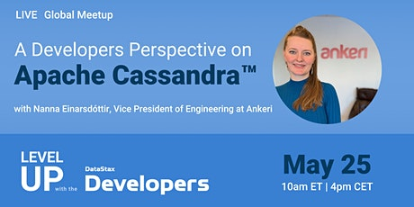 Global Meetup! A developers perspective on Apache Cassandra™ tickets