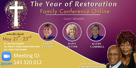 DLCI Family Conference 2021 tickets