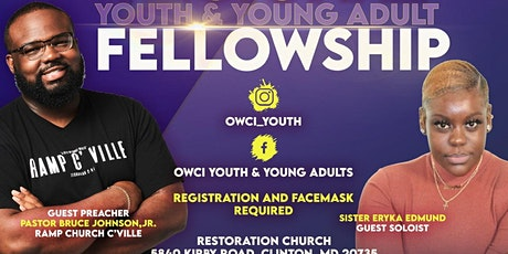 OWCI Maryland Youth & Young Adults Fellowship Service tickets