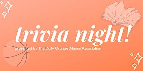 Daily Orange Alumni Trivia Night tickets