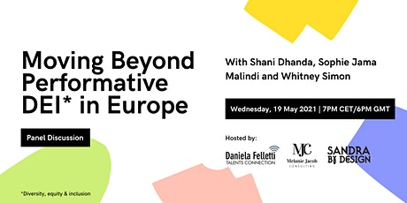 Moving Beyond Performative Diversity, Equity and Inclusion in Europe tickets