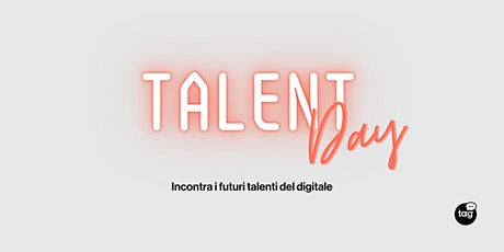 Talent Day | Incontra i futuri talenti del digitale boletos