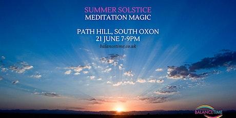Meditation Magic - Summer Solstice tickets