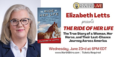 "Northshire Live: Elizabeth Letts ""The Ride of Her Life"" tickets"