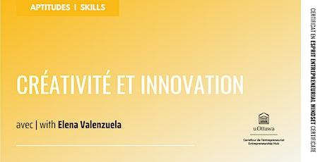 CEE : Créativité et innovation billets