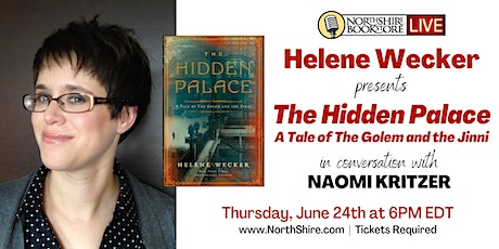 """Northshire Live: Helene Wecker """"The Hidden Palace"""" tickets"""
