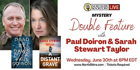 Northshire Live: Paul Doiron and Sarah Stewart Taylor tickets