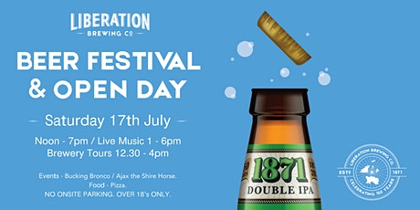 Liberation Brewing Co Anniversary Open Day and Beer Festival tickets