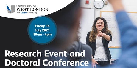 Research Event and Doctoral Conference tickets