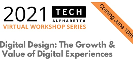 Digital Design: The Growth & Value of Digital Experiences biglietti