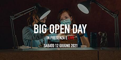 Big Open Day Giugno 2021 biglietti