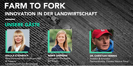 Pre-Event | Farm to Fork - Innovation in der Landwirtschaft Tickets