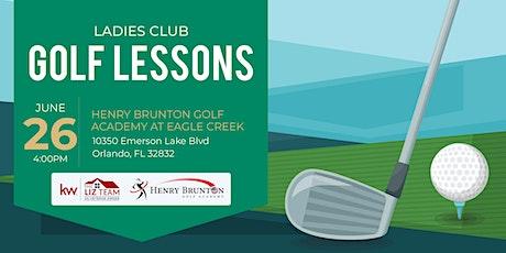Ladies Club Golf Lessons tickets