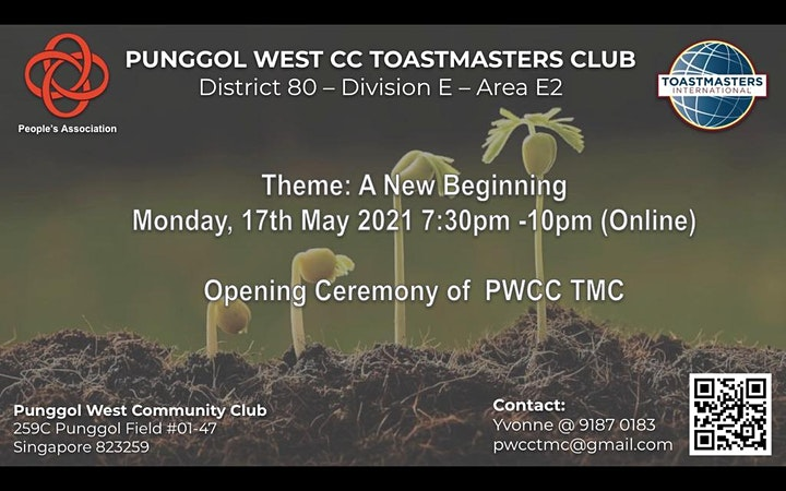 Punggol West CC Toastmasters Chapter Meeting image