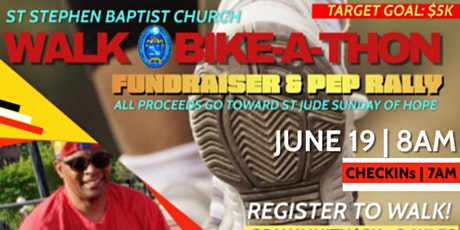 """""""Getting Fit with A Purpose"""" Walk & Bike-A-Thon for St. Jude tickets"""