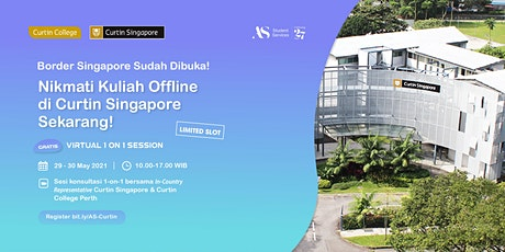 One-on-One Consultation with Curtin Singapore tickets