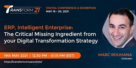 The Critical Missing Ingredient from your Digital Transformation Strategy tickets