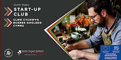 ONLINE - Clwb Cychwyn Busnes / Start-Up Club tickets