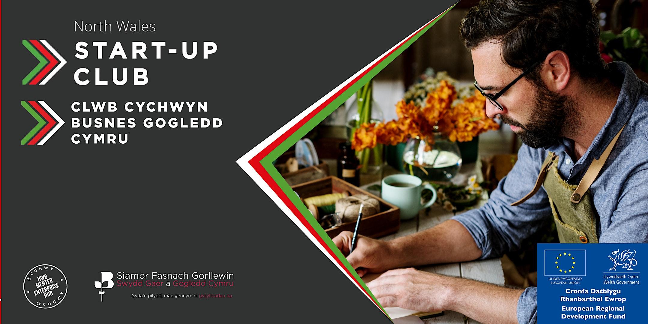 ONLINE - Clwb Cychwyn Busnes / Start-Up Club