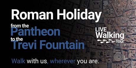 """FREE Live Walking Tour - """"Roman Holiday"""" from Pantheon to Trevi Fountain tickets"""