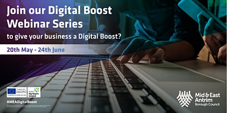 #MEA- Digital Boost - Webinar  Event Series - Shopify (3 Sessions) tickets