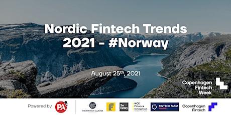 Nordic Fintech Trends 2021 - #Norway tickets