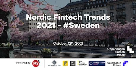 Nordic Fintech Trends 2021 - #Sweden tickets