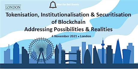 ATB: Tokenisation, Institutionalisation & Securitisation of Blockchain tickets