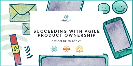 Succeed with Agile Product Ownership - Certification Course tickets