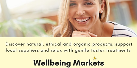Wellbeing Market 6 June 2021 1.30pm-4pm tickets