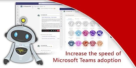 Nutzung von Microsoft Teams ein Vielfaches steigern Tickets