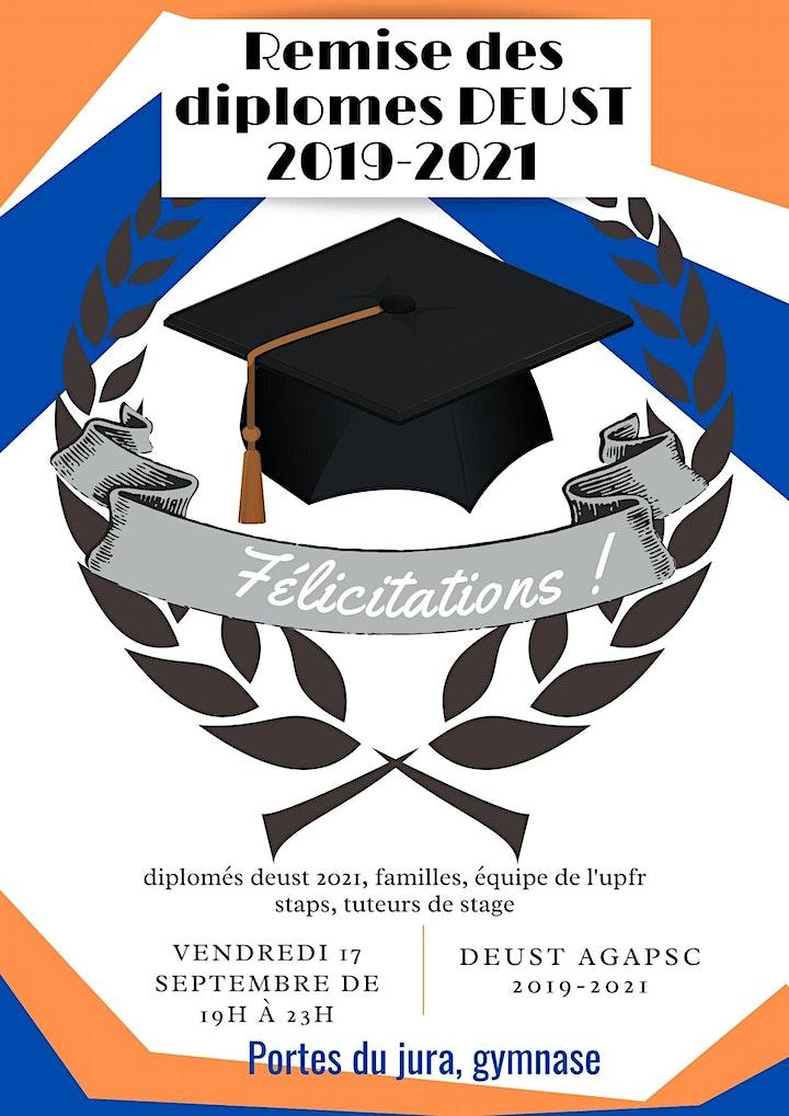Image pour Cérémonie de remise de diplome DEUST AGAPSC 2019-2021